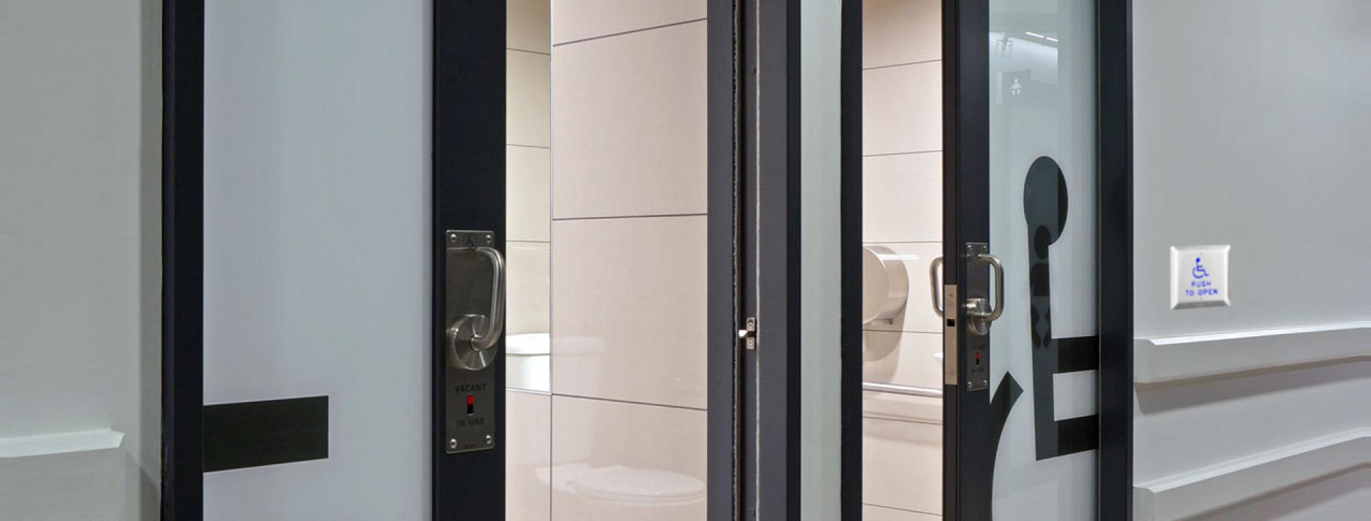 Automatic handicap washroom doors operator specialist in
