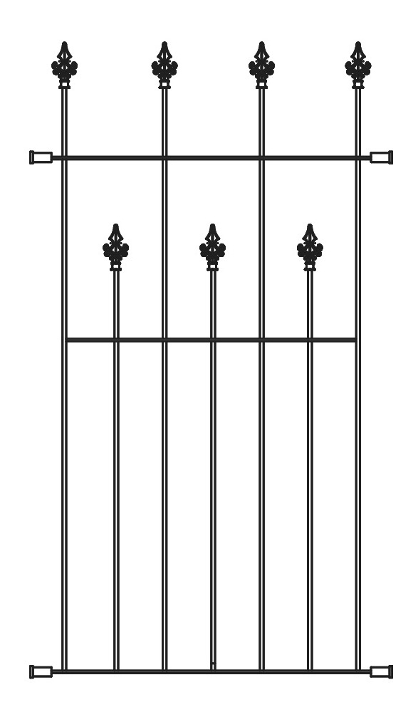 iron window grille barcelona