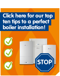 new boiler Top ten tips