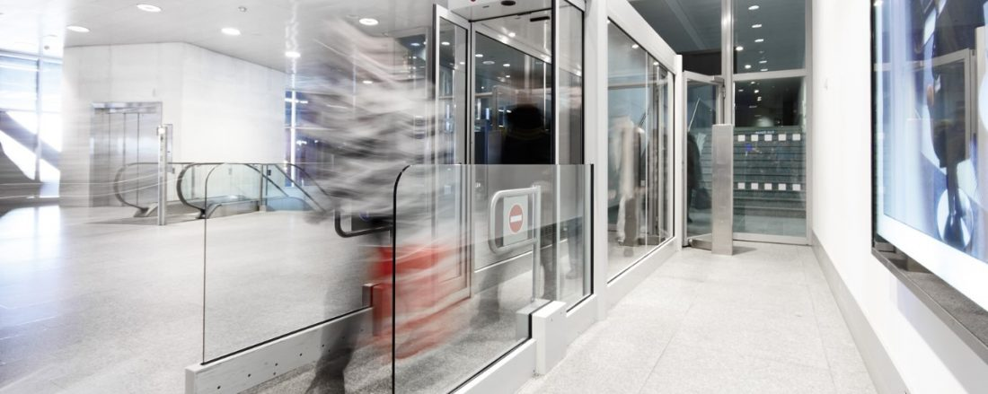 automatic doors Controls Flow of Traffic