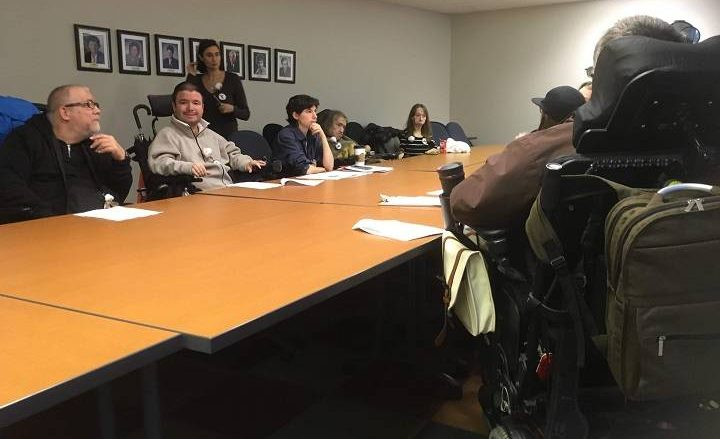 Disability rights advocates occupy Quebec ombudsman's office, demand meeting with health minister - Montreal