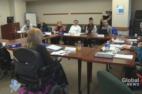 Halifax advocate wheels down Robie Street to highlight accessibility issues - Halifax