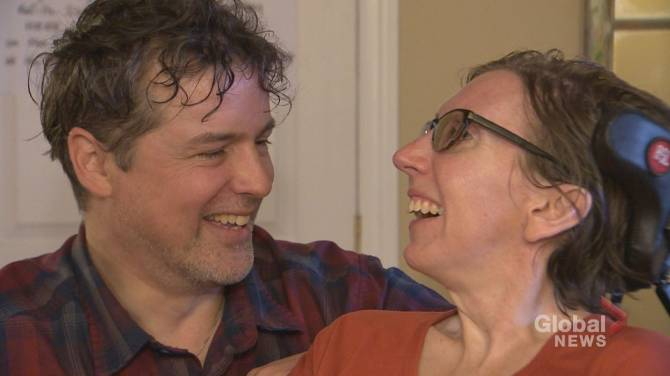 Wife's MS has Alberta MP urging more support for people with episodic disabilities