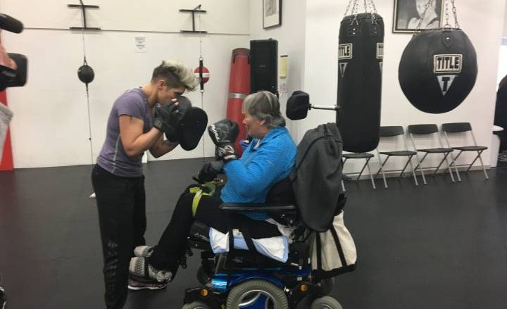 'Boxing saved my life': Owner of Salmon Arm boxing centre committed to training participants, regardless of disability