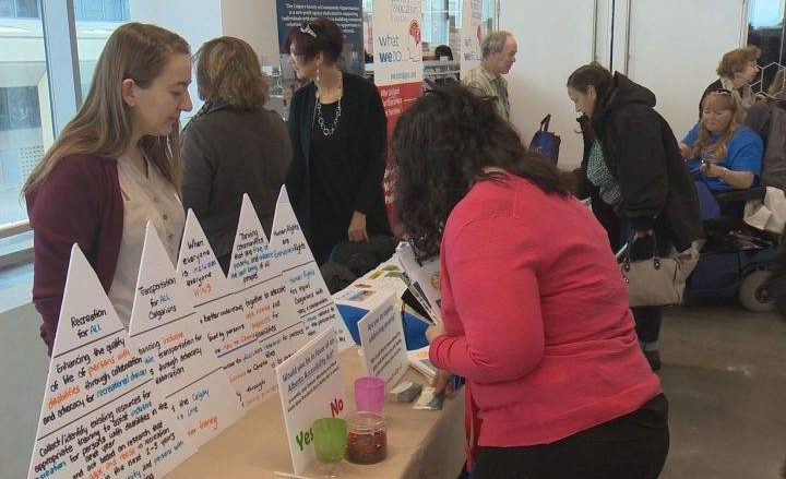 Calgarians mark International Day of Persons with Disabilities - Calgary