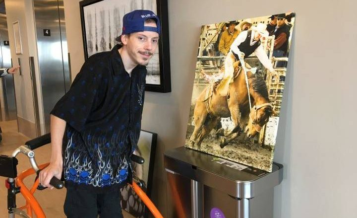 Calgary photographers donate work to accessible housing building, 'something to inspire us' - Calgary