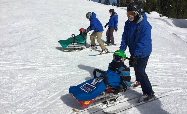 'There's never, ever a bad day at Powderhounds': Adaptive snow sports school makes skiing accessible - Okanagan