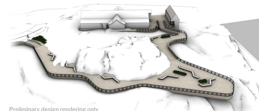 Design showing how the viewing deck will look like (Develop Nova Scotia)